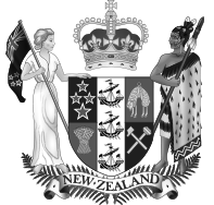 Newzealand Country Crest