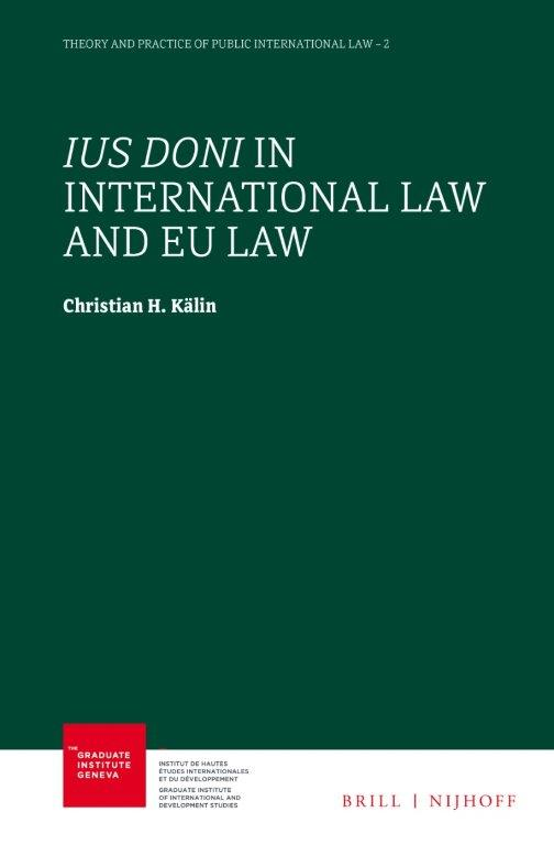 Ius Doni in International Law and EU Law