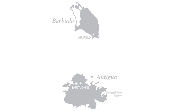 Map of Nonsuch Bay Resort, Antigua and Barbuda