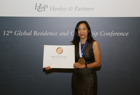 Diep N. Vuong Global Citizen Award® 2018