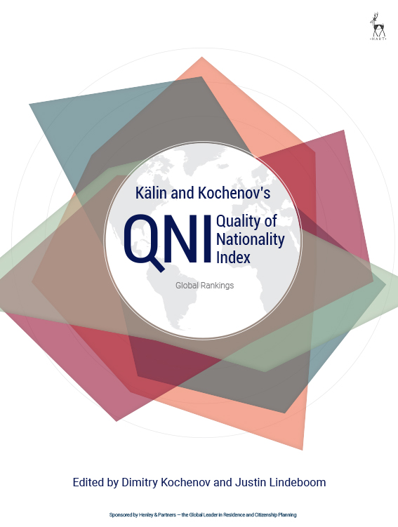 Kälin and Kochenov's Quality of Nationality Index Global Rankings